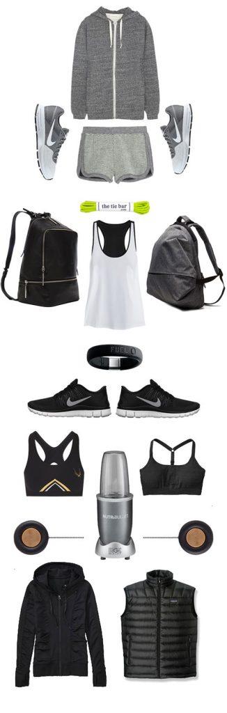 minimalist sportswear wardrobe